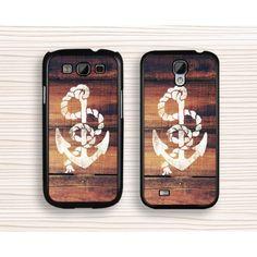 Samsung case,anchor samsung Note 2,wood anchor samsung Note 3,art anchor Galaxy S5 case,anchor Galaxy S4 case,art wood anchor Galaxy S3 case - Samsung Case