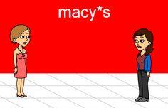 Macy's Cosmetic Customer