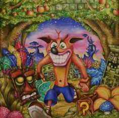 Crash Bandicoot by callum8am on DeviantArt