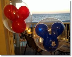 It was hard not to buy everything at Disney! But we limited it to these balloons and the Pillow Pets!