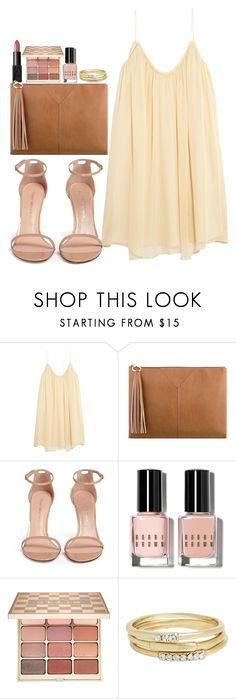 """Untitled #3661"" by abigailtaylor ❤ liked on Polyvore featuring NARS Cosmetics, Elizabeth and James, Nine West, Stuart Weitzman, Bobbi Brown Cosmetics, Stila and Jules Smith"