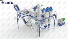 Lida 1.1.5 ton /h Biomasswood pellets production line chep price