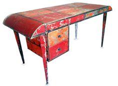 Hamed Ouattara, muebles reciclados de chapa. Burkina Faso | Mobiliario y Diseño | Experimenta