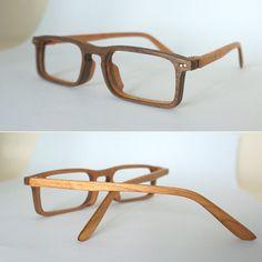 Handmade wooden glasses Frame( Brother - β)