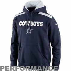 35ebc7717 Nike Dallas Cowboys 2013 Player Sideline Nailhead Performance Hoodie - Navy Blue  Dallas Cowboys Store