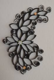 Image result for toilet paper roll crafts wall art