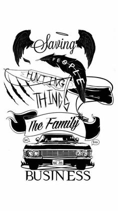 Family buisness #Supernatural #Winchester #SPN