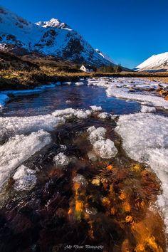 Glencoe's Winter Colours, Scotland's Highlands. Glencoe Scotland, Scotland Uk, England And Scotland, Scotland Travel, Scotland Vacation, Paisley Scotland, Scottish Mountains, Travel Around The World, Beautiful Landscapes