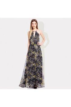 Animal print Walshingham maxi dress by Ossie Clark London :: Clozette Shoppe  http://shoppe.clozette.co/product/debenhams-3098806357/animal-print-walshingham-maxi-dress