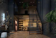 Attractive Paris Apartment paris apartment luxury decor 11