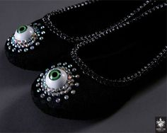 'Eye of the Witch' Shoes lol well not really cuz id never wear them but these are fun!