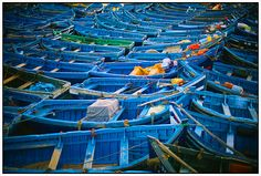 Blue boats. Essaouira Port. Morocco. @ernestooehler Fine Art Print available in www.ernestooehler.com