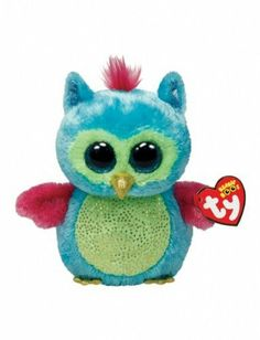 *Ty Beanie Boos* Type: Owl Name: Opal Birthday: July Introduced: August 2013 Retired: Beanie Boo Party, Ty Beanie Boos, Ty Boos, Big Eyed Stuffed Animals, Big Eyed Animals, Ty Animals, Plush Animals, Ty Peluche, Beanie Boo Birthdays