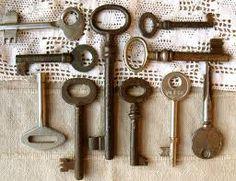 Old Keys - Genuine Vintage Keys Old Keys, Vintage Keys, Antiques, Handmade, Pumpkins, Skeleton, Image, Antique Keys, Hand Made