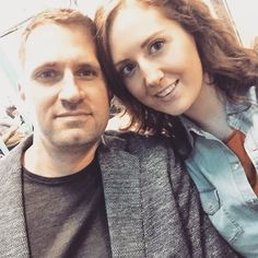 Me and Thorsten off out for lunch  bought a new denim shirt in Zara and love it  Double denim wooooooo hooooo #bae #love #selfie #coupleselfie #saturday #onplan #happy #smile #engaged #fiance #shreddingforthewedding #8weeks #weddingcountdown #wedding #bridetobe by miss_laurenryan