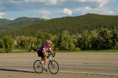 Scenic Helena, Montana is a popular place for road bikers to get out and explore.