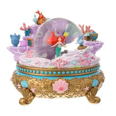 Snowglobe Ariel DisneyStore Japan-