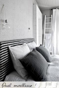 Grijs slapen / grey bedroom