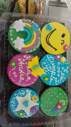 Cupcakes felicidad. Un delicioso detalle lleno de amor, y sabor wow