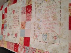 (10) Name: 'Embroidery : The Friendship Quilt - Block 2