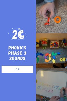 EYFS Phonics - Phase 3 Sound: 'or'