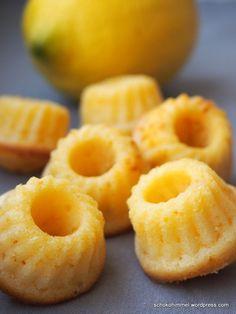 Ich hab's doch getan: Mini-Zitronen-Gugl mit Buttermilch