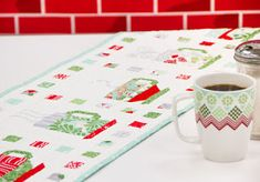 In From The Cold Tablerunner « modafabrics
