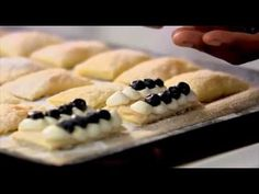 Blueberry and lemon millefeuille {Lorraine Pascale}