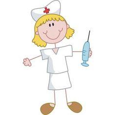 In Nursing Education Nurse Clip Art, Nurse Drawing, Nurse Cartoon, Stick Figure Drawing, Cute Nurse, Get Well Cards, Stick Figures, Rock Crafts, Cute Characters