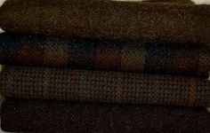 Antique Olive-Brown Drab  hand-dyed wool by Wool-N-Wares @ http://stores.shop.ebay.com/wool-n-wares
