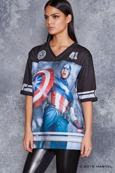 And I'll always be a soldier. This piece is straight-up tomboy chic, like you just stole it from the quar Team Captain America, Tomboy Chic, Black Milk Clothing, Skirt Leggings, Shirt Jacket, Alter, Skater Dress, How To Wear, Shirts