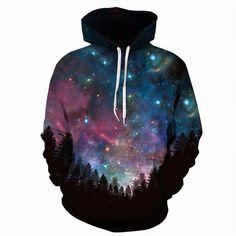 2019 Fashion 3d Pattern Printed Space Moon Meteor Top Hip Hop Sweatshirts Sportswear Winter Spring Hoodies Male Fleece Warm Tops High Quality Goods Men's Clothing