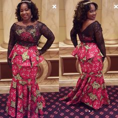 Our exclusive holiday gown worn by a beautiful client in Maryland. African Fashion Ankara, African Dress, Fashion Women, Fashion Ideas, Fashion Inspiration, Beautiful African Women, Nice Dresses, Prom Dresses, Mix Style