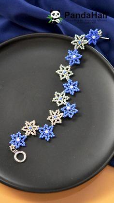 Handmade Wire Jewelry, Beaded Jewelry Designs, Diy Crafts Jewelry, Bracelet Crafts, Seed Bead Jewelry, Bead Jewellery, Diy Bracelets Patterns, Diy Bracelets Easy, Beaded Bracelet Patterns