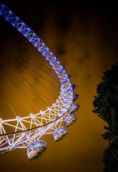 Millinium Wheel, London, England