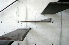 floating metal stairs to my loft ^.^