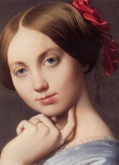 Ingres - Louise de Broglie, Countess d'Haussonville, 1845, Frick Collection