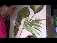 How To Paint With Oversized Brushes - YouTube