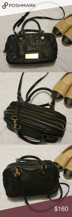 """Marc by Marc Jacobs Satchel Leather is in perfect conditions, super soft!! NO stains, rips or smells. In perstine condition but does not come with a dust bag....reasonable offers are welcome Approximately  6.5""""H 10.5""""L 5.5""""W Marc By Marc Jacobs Bags Satchels"""