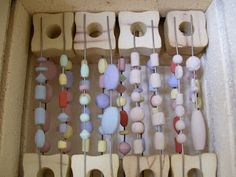 Beads of Clay Blog: Tool Talk Thursday: Small Kiln Survey Part III Looking inside a fully load small kiln