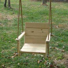 Wood Swings Co. Wooden Baby Swing, Wooden Tree Swing, Wooden Swing Chair, Wood Swing, Swinging Chair, Swing Chairs, Room Chairs, Porch Swing Frame, Diy Swing