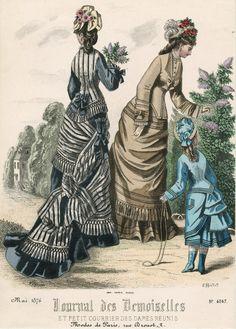 May, 1876 - Journal des Demoiselles et Petit Courrier des Dames