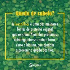 BENEFÍCIOS DA LENTILHA PARA OS CABELOS!!!  :-)