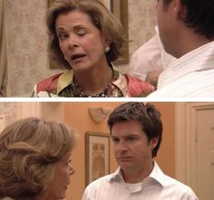 Arrested Development. Lucille Bluth is almost as good at winking as I am.