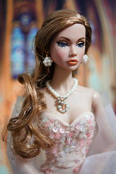 Little Mermaid poppy Barbie Hair, Barbie Dress, Barbie Outfits, Pink Barbie, Beautiful Barbie Dolls, Pretty Dolls, Fashion Royalty Dolls, Fashion Dolls, Realistic Barbie
