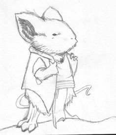 I drew this from an image in the Mouse Guard FCBD '11 issue. I'm not sure if it was from an ad or an actual panel but I wanted to try my hand at David Petersen's style. I drew this in about 15 minu...