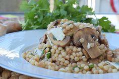 Mushroom & Israeli Couscous Salad
