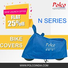 Polco's N Series 100% Waterproof Bike Covers. Flat 25% OFF Buy Now: https://goo.gl/AjhZTu #safelyrakho #polcocover