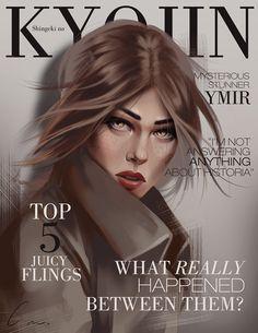 SnK Magazine: Ymir by putemphasis