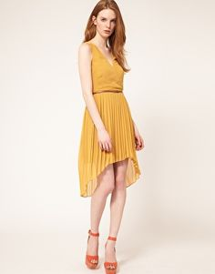 Oasis Wrap Belted Midi Dress